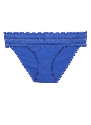 Marks & Spencer Dantelli Bikini Külot  Mavi